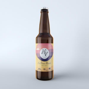 Bière blonde de Corrèze brasserie HV